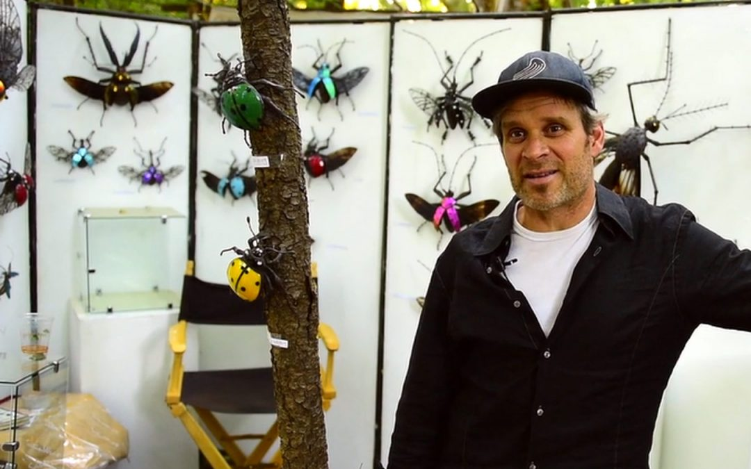 Sean Goddard Insect Sculptures