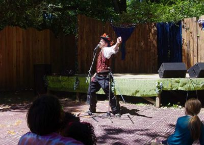 Cullen Vance at Oregon Country Fair