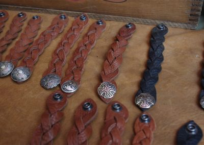 alkahest leather bracelets at OCF