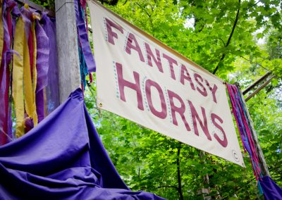 sign for fantasy horns