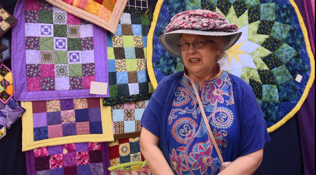 Nancy the Quilt Lady at OCF