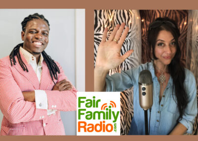 kemy joseph interviewed by Jorah LaFleur fair family radio